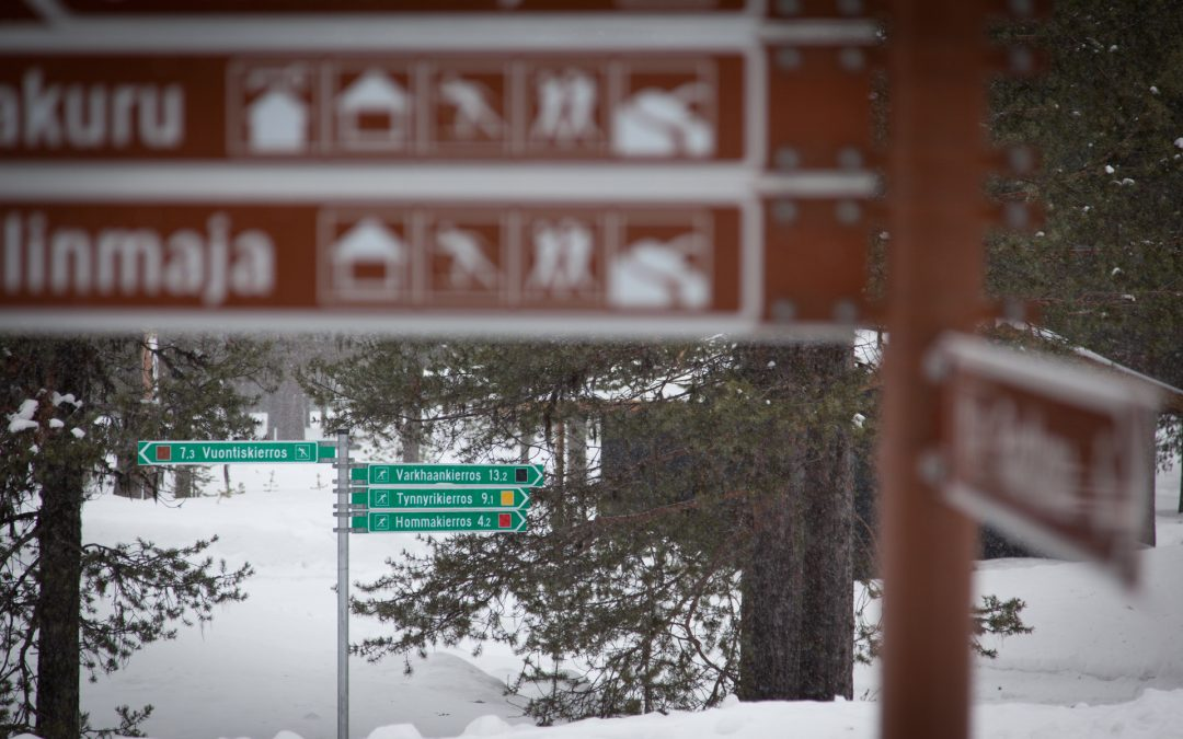 Turvallisia hiihtotunteja Raattamassa