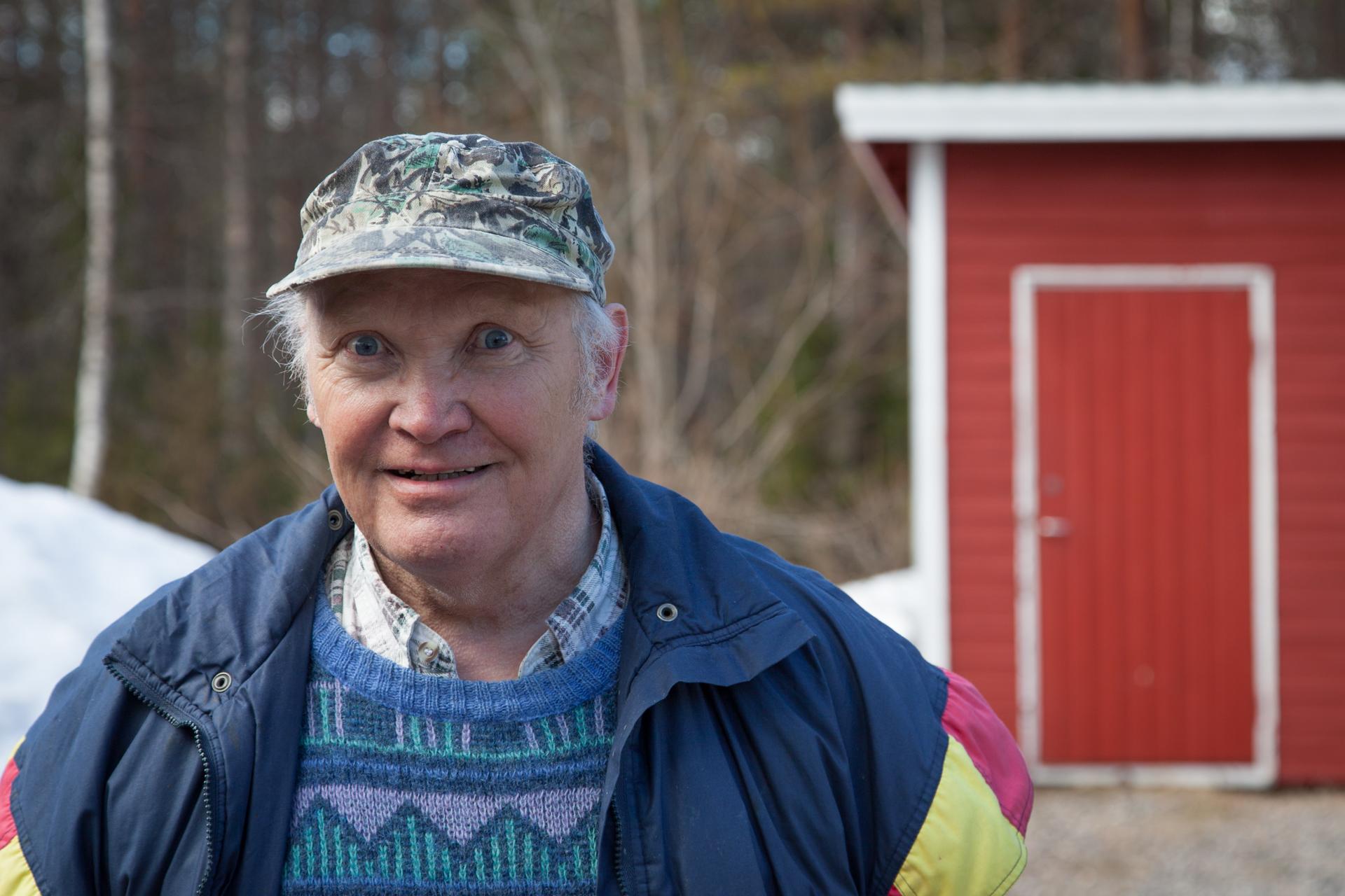 Työuransa muurarina tehnyt Leevi Suonnansalo palasi Etelä-Suomessa vietettyjen vuosien jälkeen takaisin pohjoiseen.