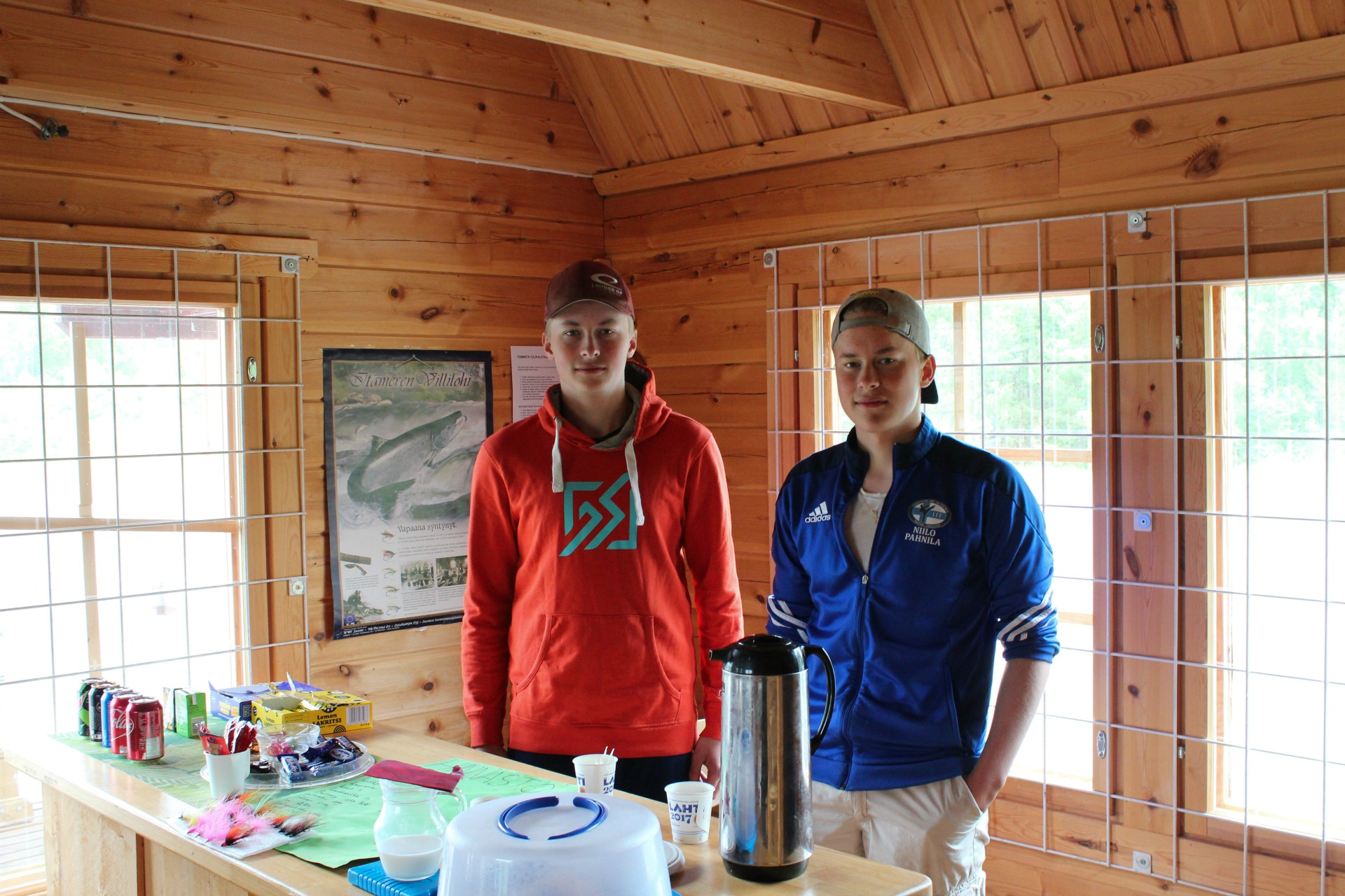 Pekka ja Niilo Pahnila ovat nuoria 4H-yrittäjiä.