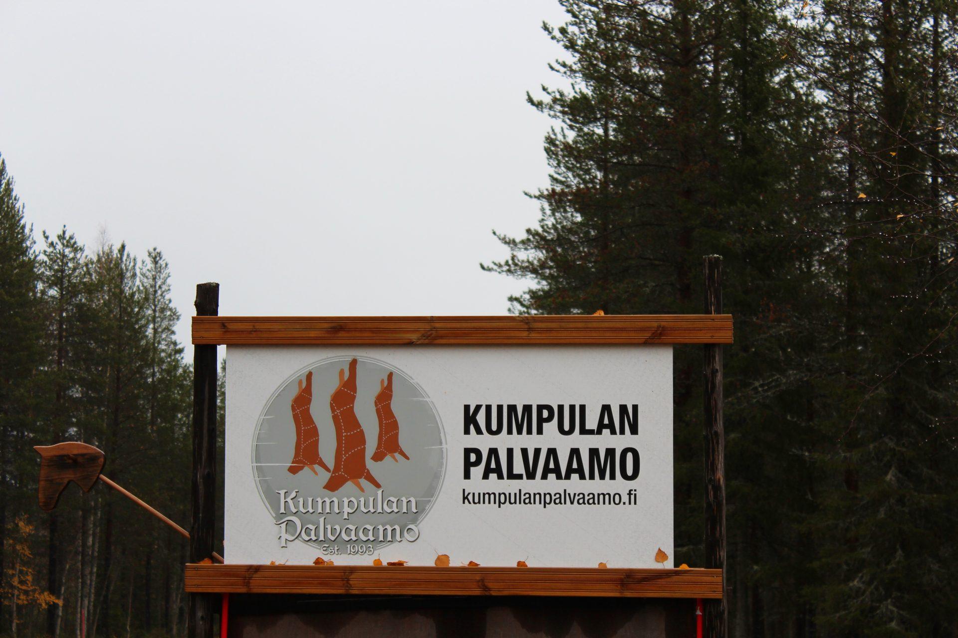 Kumpulan Palvaamo sijaitsee Ruokojärvellä Kolarissa.