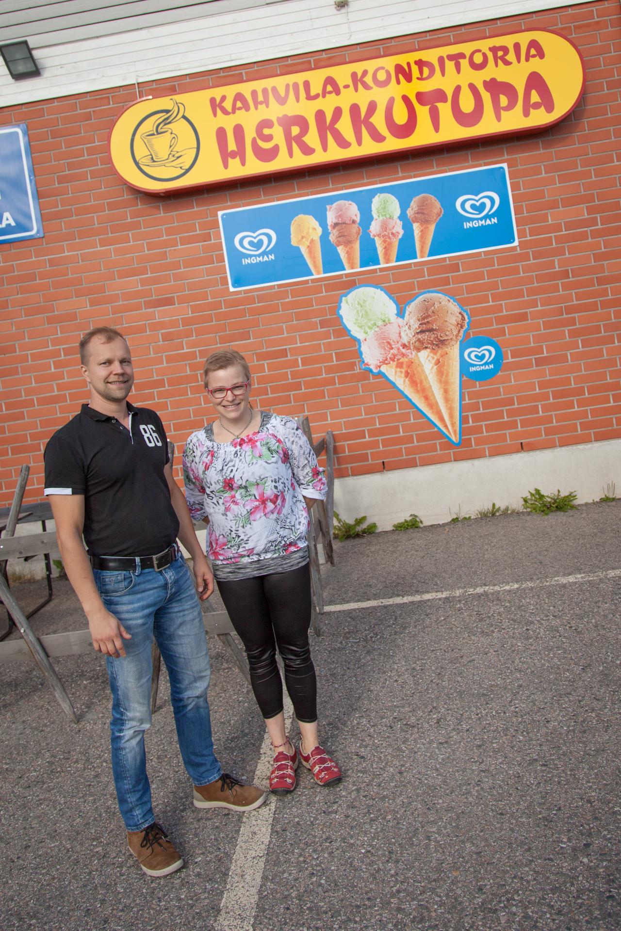 Matti ja Susanna Hiltunen.