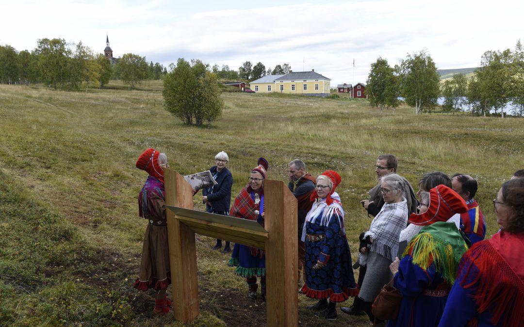 Polku paikkakunnan historiaan