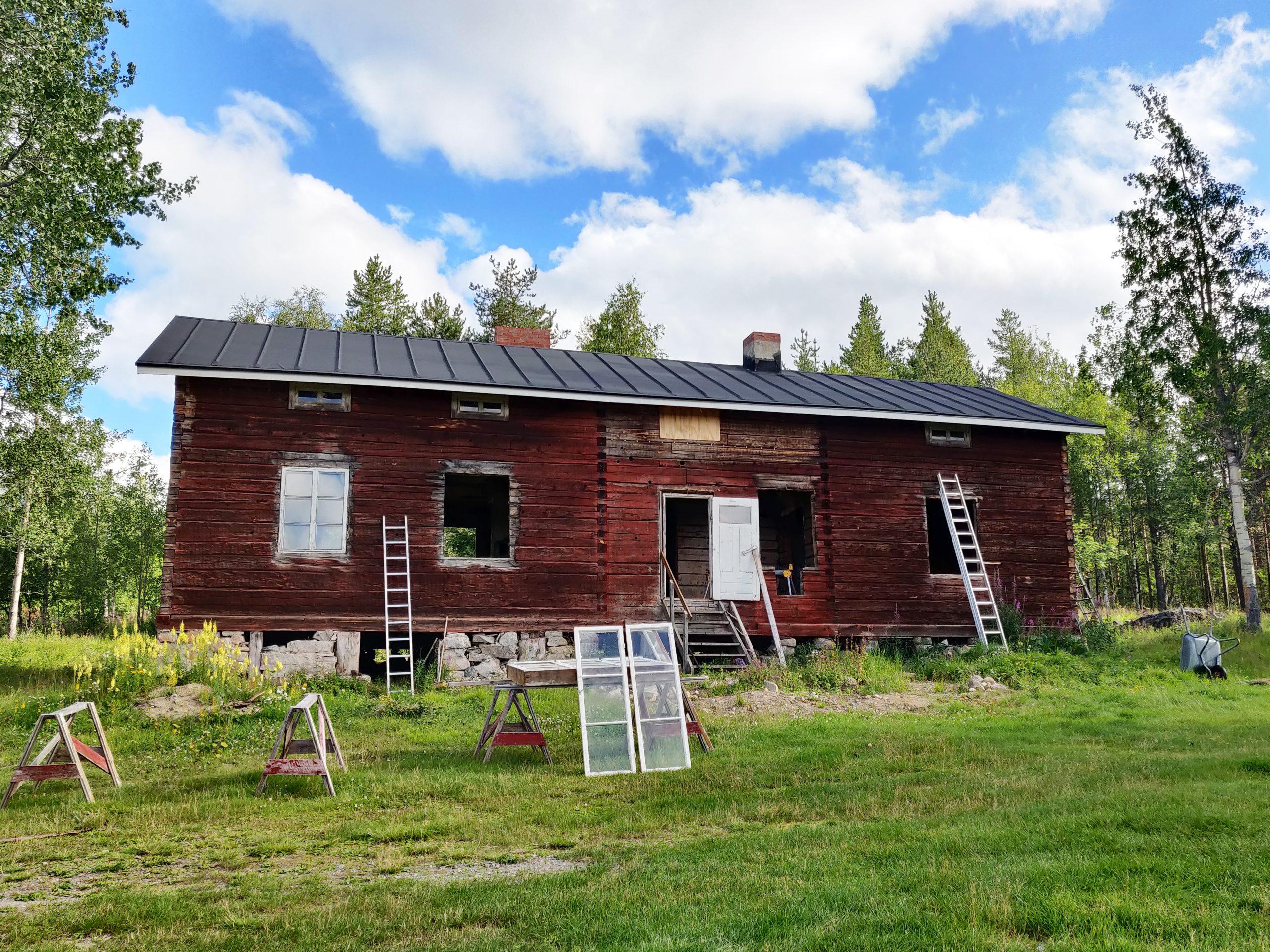 Alatörmäsen talo Tepastossa, Kittilässä.