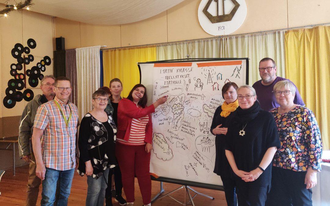 Rovaniemen kylät kehittyvät kokeillen