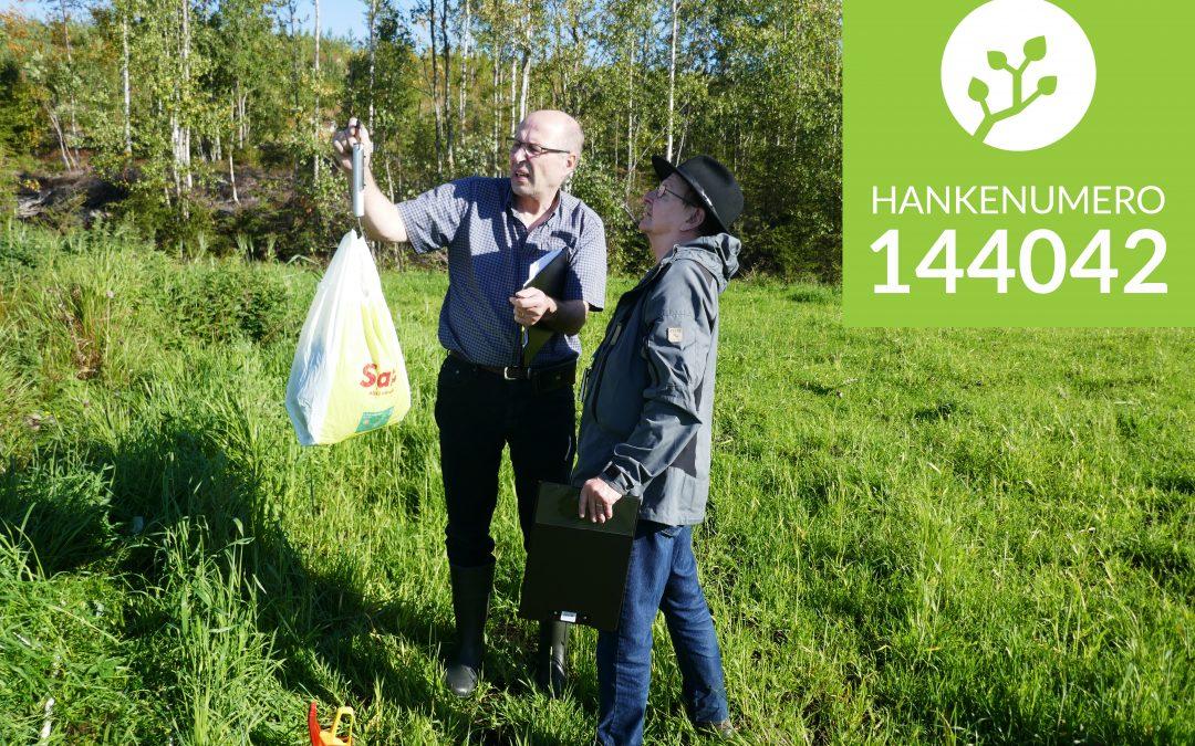144042 – Rauno opastaa peltovahinkojen arviointiin