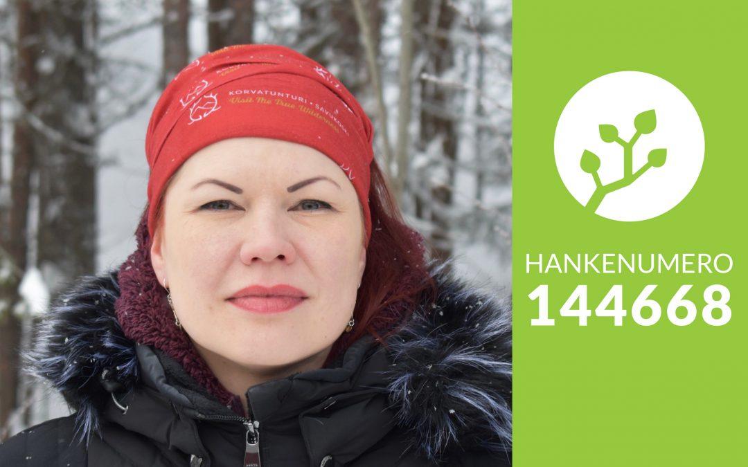 Kati Savukoski selfie, hankenumero 144668.