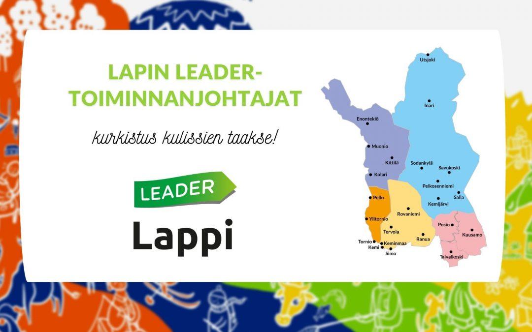 Uusi videosarja alkaa, esittelyssä Lapin Leader-toiminnanjohtajat